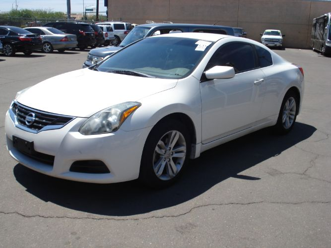 2012 Nissan Altima Coupe 2,5 S EZ Finance For All Credit, Low Payments