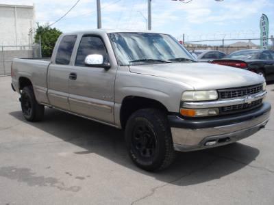 1999 Chevrolet Silverado 1500 Ext Cab 4X4, Cheap Truck