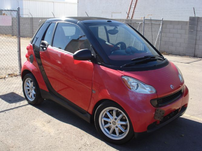2009 smart fortwo Passion Convertible Finance Available, Setup to Tow Behind RV