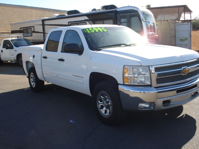 2012 Chevrolet Silverado 1500 Crew Cab 4x4 LT Bad Credit OK, Low Down, Low Payments