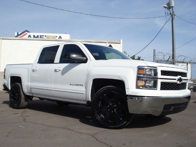 2015 Chevrolet Silverado Crew Cab Finance is EZ Here, Low Down Payment