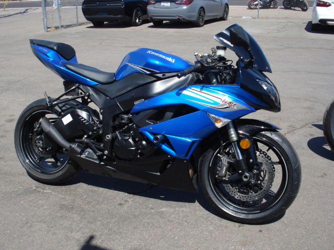 2011 Kawasaki ZX-6R FINANCE AVAILABLE FOR BAD CREDIT