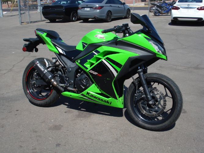 2014 Kawasaki Ninja 300 Special Edition Finance For Bad Credit is Possible