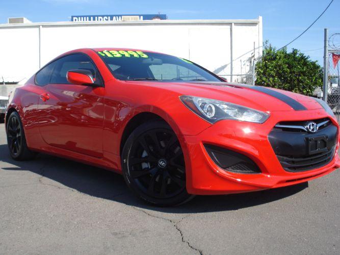 2013 Hyundai Genesis Coupe Turbocharged, Sexy Red, EZ Finance