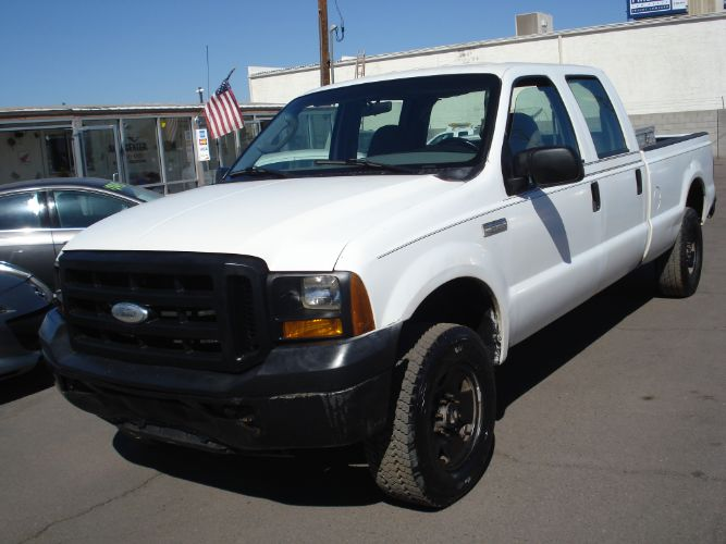 2007 Ford Super Duty F-250 Crew Cab 4x4, EZ Finance, Low Down, Low Payments