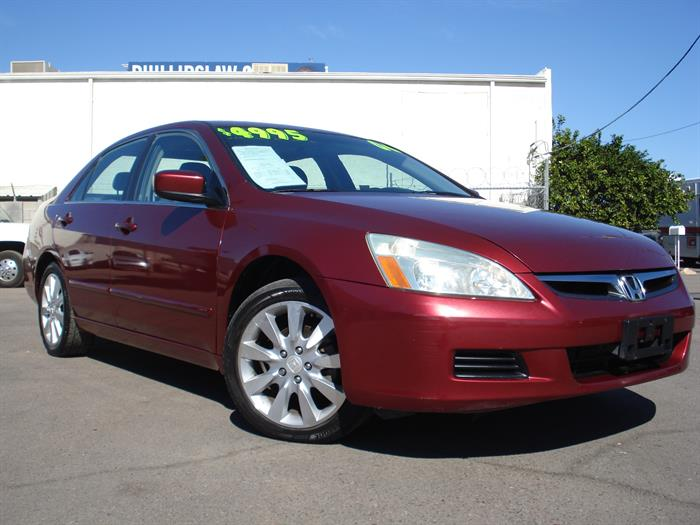 2006 Honda Accord Sdn EX-L V6 with NAVI