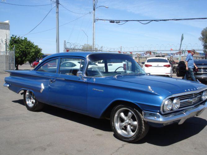 1960 Chevrolet Biscayne 2dr, Nice Hot Rod
