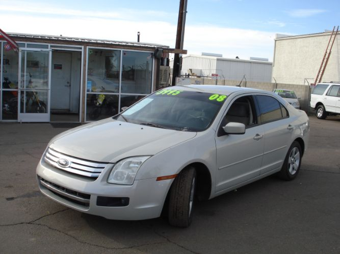 2008 Ford Fusion Finance Available