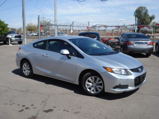 2012 Honda Civic Cpe Low Miles, Finance is EZ Here