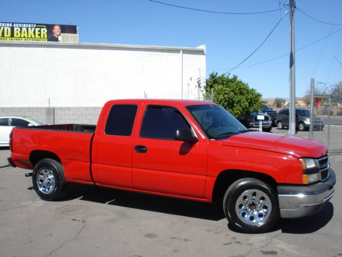 2007 Chevrolet Silverado Ext Cab EZ Finance For Any Credit