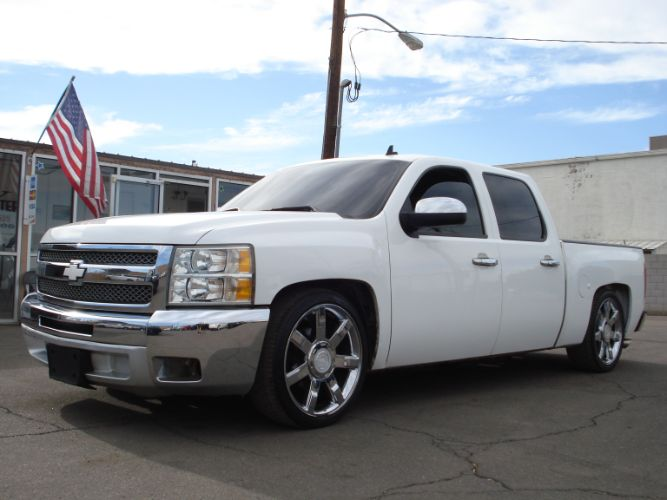 2012 Chevrolet Silverado Crew Cab Finance is EZ Here, Low Down Payment