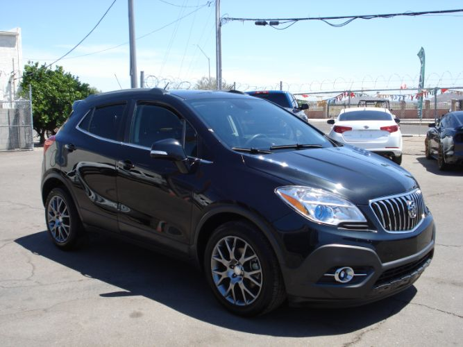 2016 Buick Encore Sport Loaded With Options, Finance is EZ With Low Down