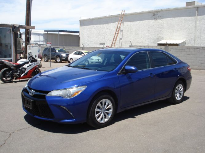 2016 Toyota Camry XLE EZ Finance Available, Low Miles