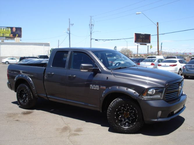 2014 Ram 1500 Quad Cab 4x4 Sport Finance Available With Low Rates, Low Down