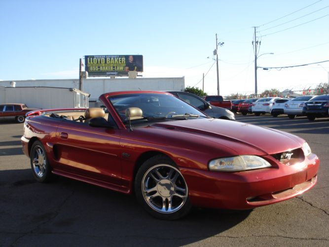 1996 Ford Mustang GT Supercharged Convertible, Low Miles