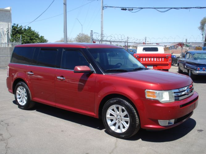 2009 Ford Flex Leather Loaded, Third Row Seating, EZ Finance