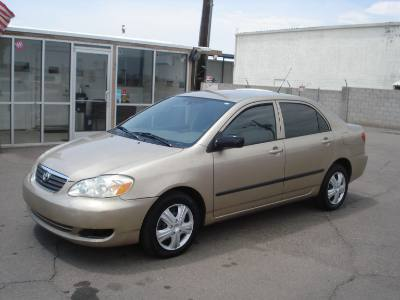 2005 Toyota Corolla Finance is Available for Bad Credit