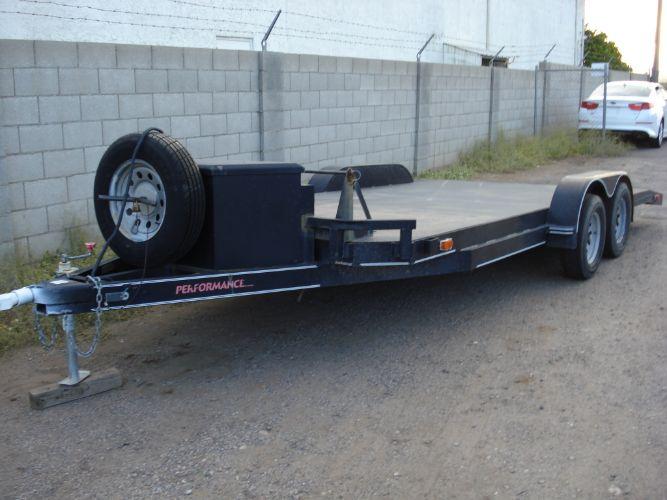 2011 Parker Trailer Sales Performance Steel Deck 17 Ft Deck, Extra Wide Rear 102