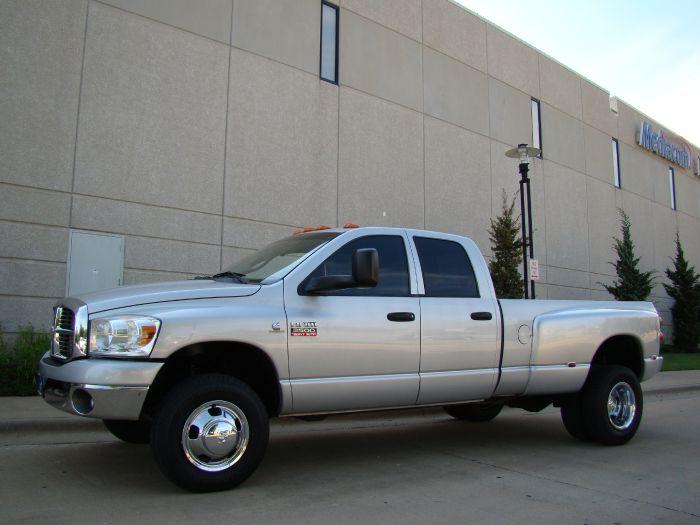 2008 Dodge Ram 3500 SLT BIG HORN 4X4 DRW CREW BLUETEC DIESEL