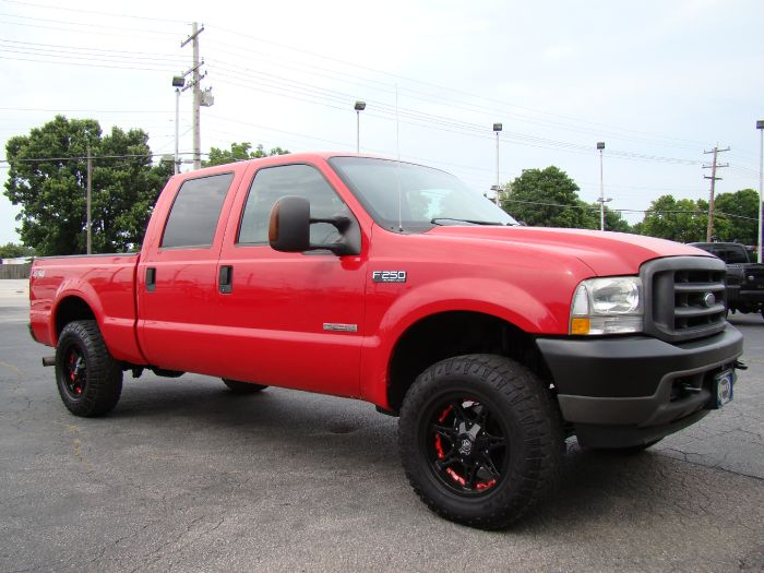 2004 Ford Super Duty F-250 XLT 4X4 CREW DIESEL