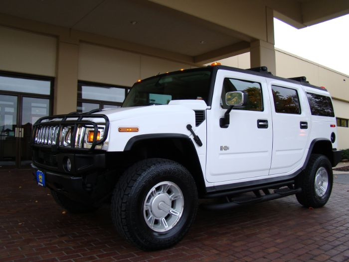2003 HUMMER H2 LUXURY EDITION