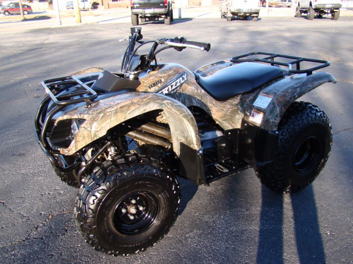 2008 YAMAHA GRIZZLY 125 AUTO HUNTER