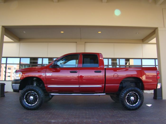 2008 Dodge Ram 2500 LARAMIE 4X4 BLUE TEC DIESEL LIFTED