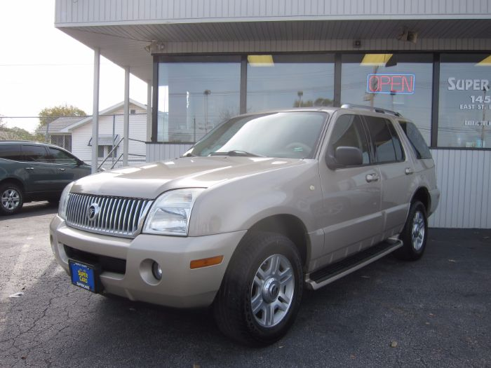 2004 Mercury Mountaineer LUXURY 4.6L