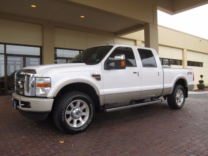 2010 Ford Super Duty F-250 SRW KING RANCH CREW 4X4 W/NAVIGATION