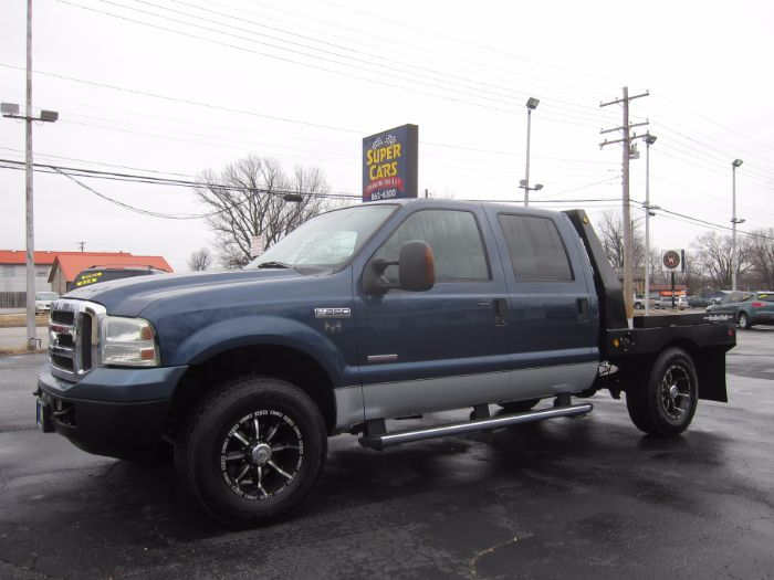 2005 Ford Super Duty F-250 XLT 4X4 CREW DIESEL