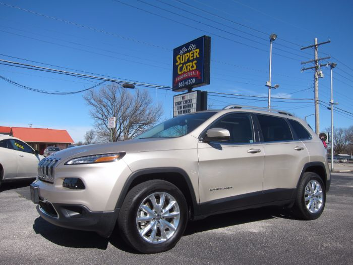 2015 Jeep Cherokee LIMITED 4X4 V6