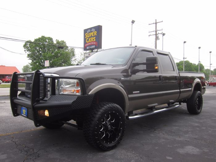 2007 Ford Super Duty F-350 SRW LARIAT CREW LB 4X4 DIESEL SUNROOF