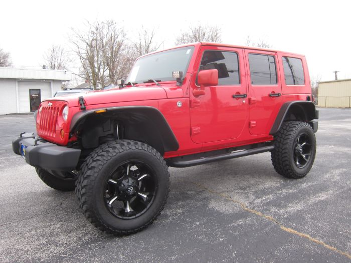 2010 Jeep Wrangler Unlimited SPORT 4X4 LIFT
