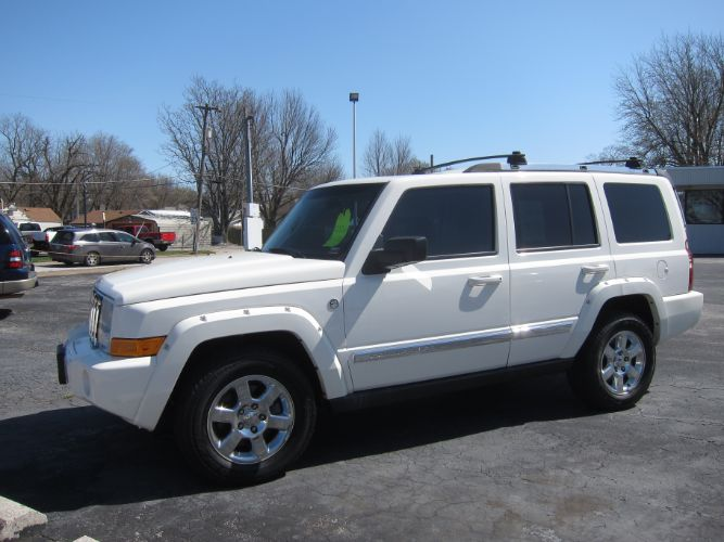 2006 Jeep COMMANDER LIMITED 5.7 HEMI DVD SUNROOF 3rd ROW
