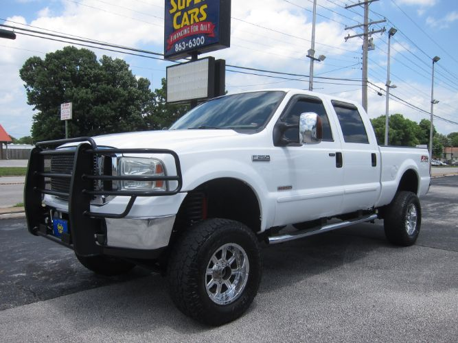 2006 Ford Super Duty F-250 LARIAT CREW 4X4 LIFTED DIESEL