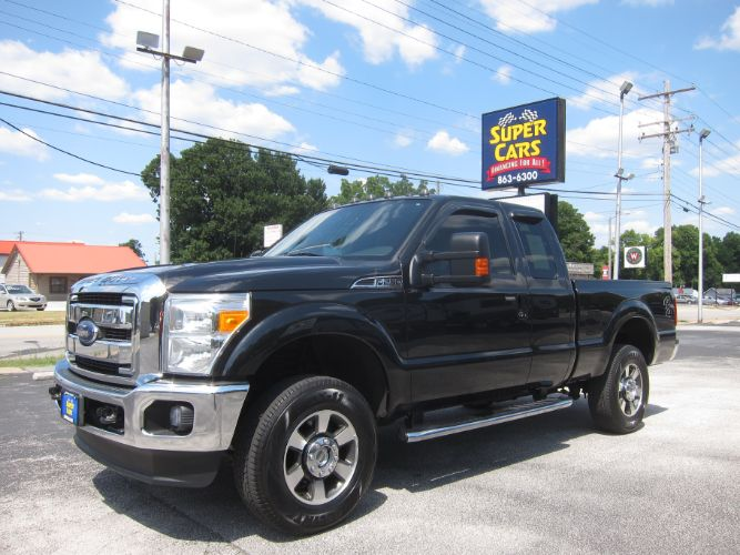2012 Ford Super Duty F-250 SRW LARIAT 4X4 6.2 V8 FLEX FUEL