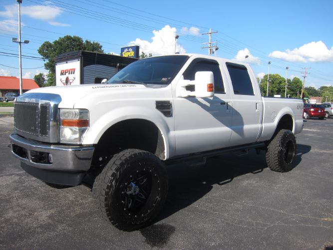 2010 Ford Super Duty F-250 SRW LARIAT CREW 4X4 LIFTED DIESEL