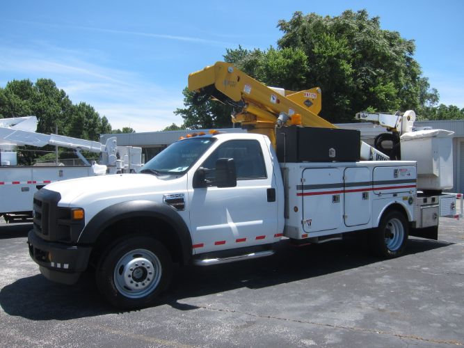 2008 Ford SUPER DUTY F-550 DIESEL 4X4 BUCKET TRUCK