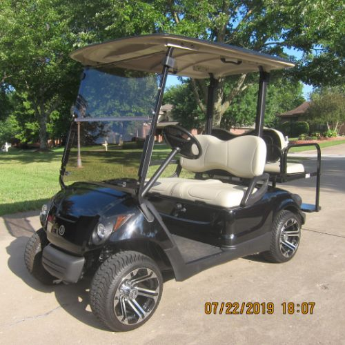2010 YAMAHA GOLF CART - GAS