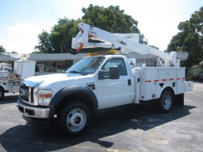 2010 Ford Super Duty F-550 DRW XL DIESEL 4X4 BUCKET TRUCK