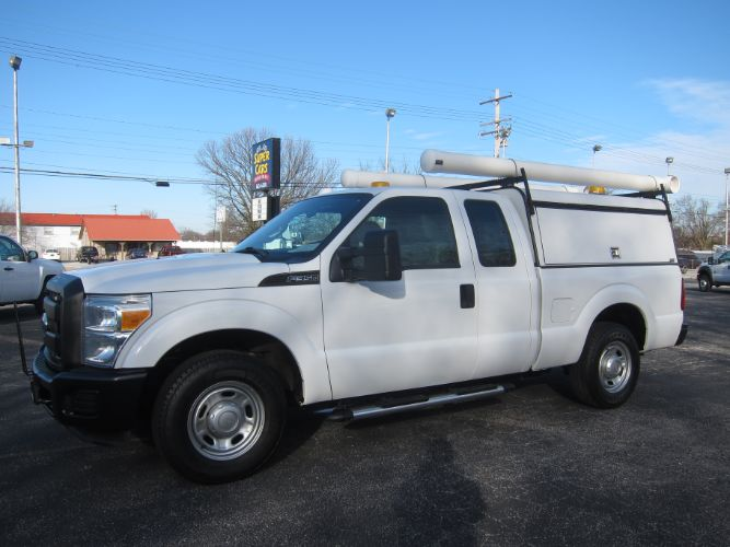 2012 Ford SUPER DUTY F-350 XL EXT CAB 6.2 GAS 2WD