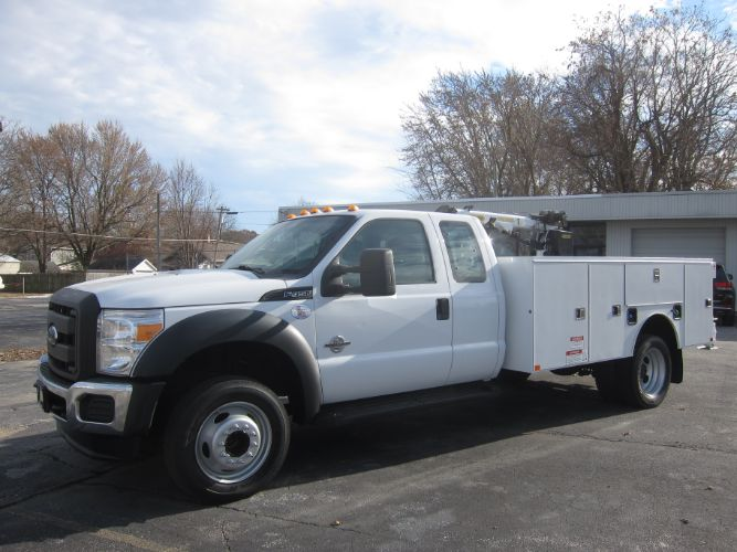 2016 Ford SUPER DUTY F-450 XL EXT CAB 6.7 DIESEL ~ PALFINGER CRANE W/REMOTE