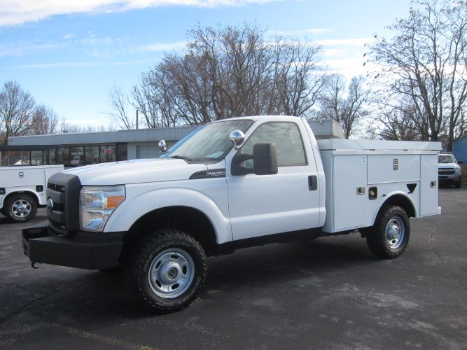 2013 Ford SUPER DUTY F-250 XL 4X4 6.2 V8 ~ SERVICE BED