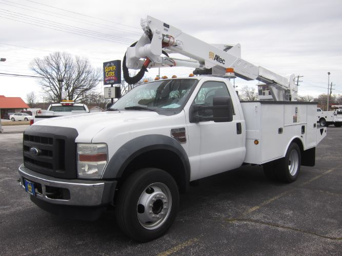 2010 Ford SUPER DUTY F-550 XL DIESEL ~ BUCKET TRUCK