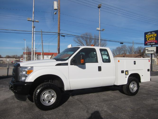 2014 Ford SUPER DUTY F-250 EXT CAB 4X4 6.2 V8 ~ SERVICE TRUCK ~ INVERTER