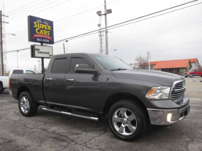2014 Ram 1500 BIG HORN 4X4 DIESEL ~ LINE-X ~ BED COVER