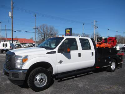 2015 Ford Super Duty F-350 DRW CREW CAB 4X4 6.7 DIESEL ~ COMPRESSOR AND GENERATOR