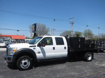 2015 Ford Super Duty F-450 DRW CREW CAB LWB 6.7 DIESEL ~ INVERTER