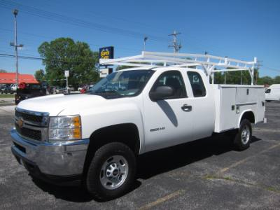 2013 Chevrolet Silverado 2500HD EXT CAB 6.0 2WD SERVICE BODY