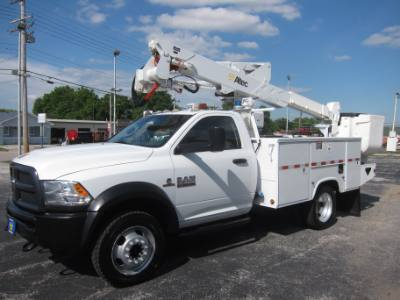 2013 Ram 5500 4X4 BUCKET TRUCK 6.7 DIESEL ALTEC AT37G